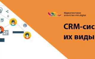 CRM-системы: что это, виды и стоимость, особенности работы