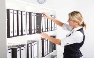 Должностная инструкция и обязанности делопроизводителя: образец