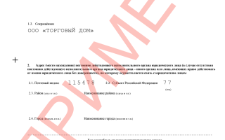 Полный пакет документов для создания ООО
