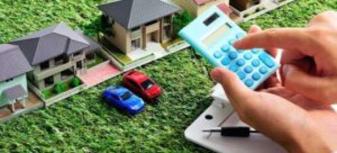 Налог на земельные участки физических лиц