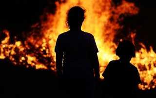 Общие правила поведения при пожаре