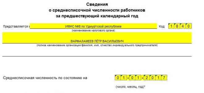 Новая форма КНД 1110018: налоговая отчетность по среднесписочной численности работников