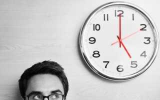 Заявление об установлении неполного рабочего дня