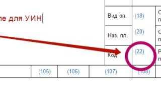 Что такое УИН в платежном поручении: какой уникальный идентификатор начисления указывать