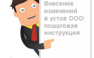 Как составить или изменить устав ООО в соответствии с нормами