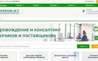 Электронная торговая площадка Сбербанк-АСТ: нормативно-правовая регламентация