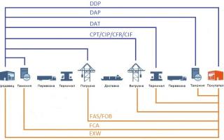 Условия поставки CIP (СИП): обязанности продавца и покупателя