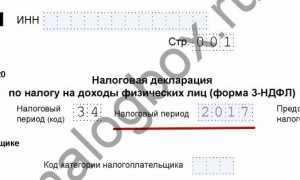 Как заполнять коды налогового периода по декларациям