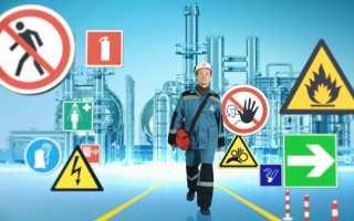 Особенности нанесения знаков безопасности по охране труда