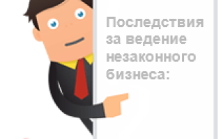Незаконное предпринимательство: штрафы, статьи, ответственность по КоАП РФ, УК РФ