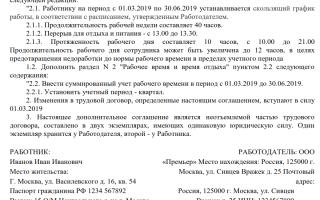 Что значит скользящий режим или гибкий график работы по ТК РФ